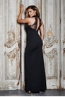 Jessica Wright Arabella Black High Neck Maxi Dress