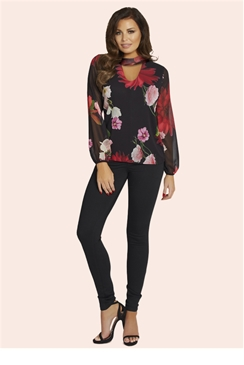 Jessica Wright Nolana Floral Blouse