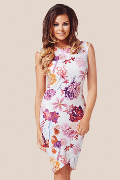 Jessica Wright Ariella Floral Cap Sleeve Dress
