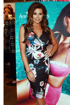 JESS WRIGHT ERIN FLORAL PRINT WRAP DRESS