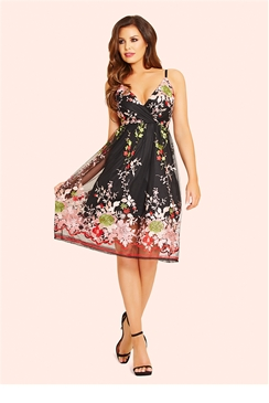 Jessica Wright Palma Embroidered Prom Dress