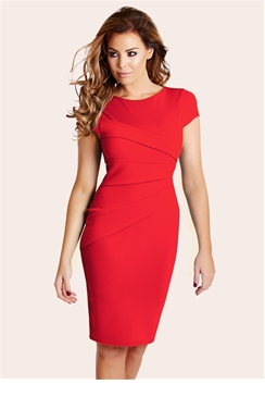 Jessica Wright Real Red Vicky Bodycon Dress