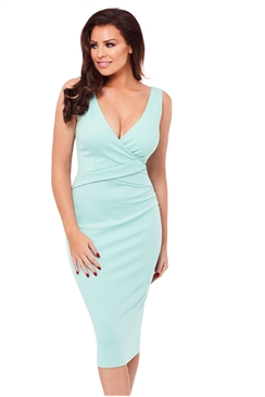 Jessica Wright Alria Mint Bodycon Dress
