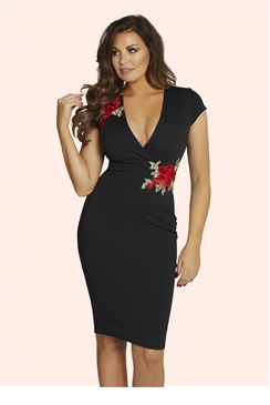 Jessica Wright Peyton Black Dress