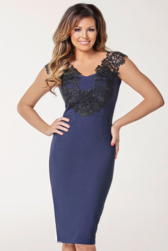 JESSICA WRIGHT PEARLY  DRESS