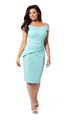 Jessica Wright Vinnie Mint Bodycon Midi Dress