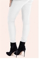 Jessica Wright Jenine White Denim High Waisted Skinny Jeans