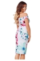 JESS WRIGHT LORA BLOSSOM PRINT BARDOT DRESS