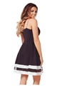 JESSICA WRIGHT LULA MONOCHROME SKATER DRESS
