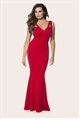 red jess wright cocktail dress from fashion 2017 collection in sistaglam celebrity clothing boutique