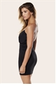 PETITE SIMONA BLACK DRESS