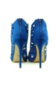 Jessica Wright Allure Cobalt Blue Microsuede Shoes