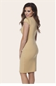 JESSICA WRIGHT ALIZ DRESS- CAMEL