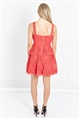 Jessica Wright Valentyna Strappy Double Tiered Skater Crochet Lace Dress