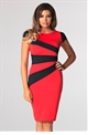 JESSICA WRIGHT VICKY DRESS- RED