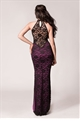 LEXI MAXI BLACK & PURPLE