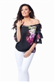 Jessica Wright Flissy Bardot Floral Top