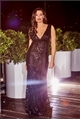 Jessica Wright Olympia black Vip sequin embellished deep v neck maxi dress