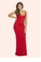 Jessica Wright Jez red maxi dress