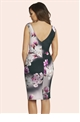 Jessica Wright Black Leigh Floral Dress