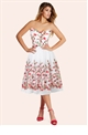 Sistaglam Celina Ivory Prom Dress