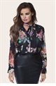 JESSICA WRIGHT TULA FLORAL PRINT BLOUSE