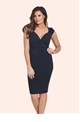 Jessica Wright Kassey Black Bodycon Dress