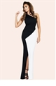 Jessica Wright Candice Monochrome Maxi Dress