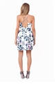 Sistaglam Lillian multi floral satin cami dress