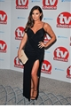Jessica Wright Myla Black Slinky Ruched Wrap Front Maxi Dress