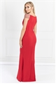 Sistaglam Milliana Red Off The Shoulder Maxi Dress