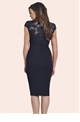 jessica wright broady navy lace bodycon dress