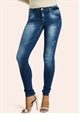 JESSICA WRIGHT SKINNY STRETCH MEDIUM SOFT BLUE JEANS