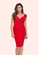 Jessica Wright Kassey Red Bodycon Dress