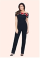 Jessica Wright Jordina Black Jumpsuit