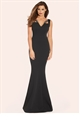 JESSICA WRIGHT OPAL BLACK JEWELLED MAXI DRESS