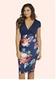 Jessica Wright Jolie Multicolour Floral Dress