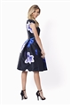 Sistaglam Radley Bardot All Over Floral Print Prom Dress