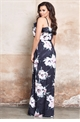 Jessic Wright Jaydey floral frilled top style maxi dress