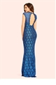 Jessica Wright Analisa Black Sequin Lace Maxi Dress