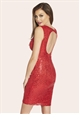JESSICA WRIGHT VIVIENNE RED DRESS