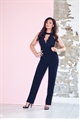 Jessica Wright chanelle black jumpsuit