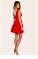 Petite Sonia Red Mini Dress