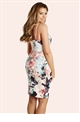 Jessica Wright Lois Floral Panelled Print Bodycon Dress