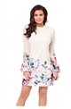 Jessica Wright Effie Floral Long Sleeve Shift Dress