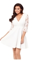 Jessica Wright Tammy White Skater Dress