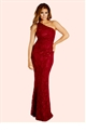 Jessica Wright Alison Berry Sequin Lace One Shoulder Maxi Dress