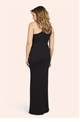 Jessica Wright Dixie One Shoulder Monochrome Maxi Dress