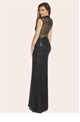 Jessica Wright Becky Sequin Celebrity Style Maxi Dress