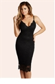 Jessica Wright Harriet Black Dress